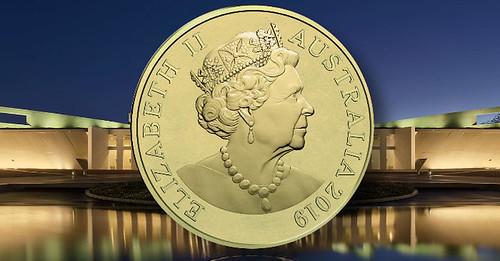 New effigy of Queen Elisabeth II