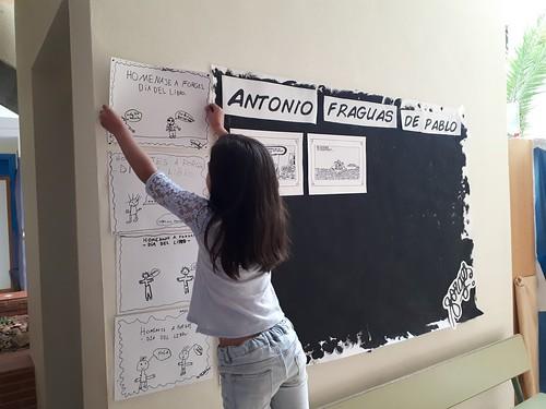 Colegio El Palmarillo Semana Lectora dedicada a Borges