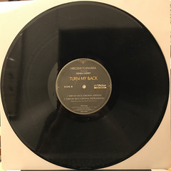 HIROSHI FUJIWARA:TURN MY BACK(RECORD SIDE-B)