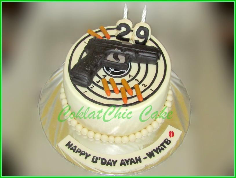Cake Pistol AYAH 15 cm
