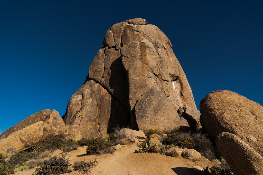 A view of Tom's Thumb in McDowell Sonoran Preserve in Scottsdale, Arizona