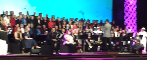 Just a section of the largest choir in the U.S.A.. From CFCArts – an Appreciation By Josh Garrick