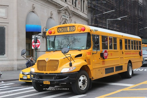 IC BUS CE School Bus NYC