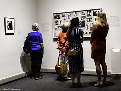 Visitors at Sally Mann Exhibit