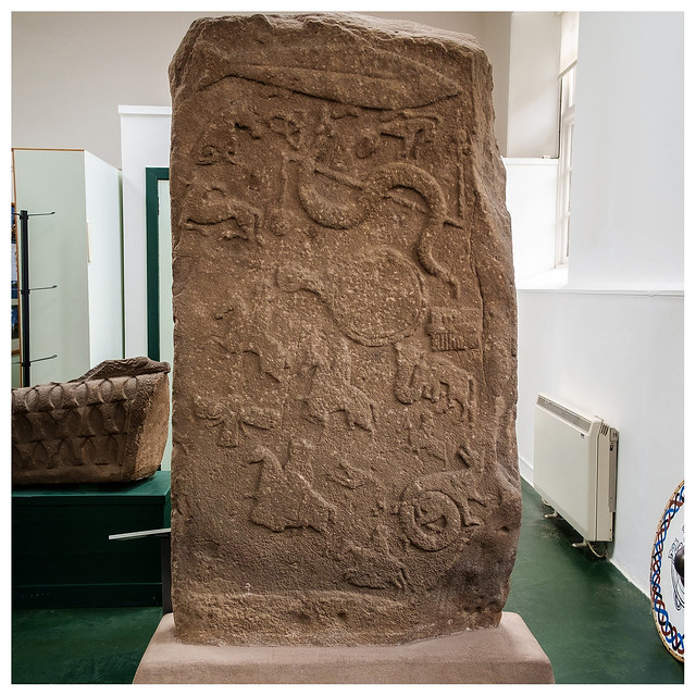 Pictish stone , Meigle, Fujifilm X-Pro1, XF18mmF2 R