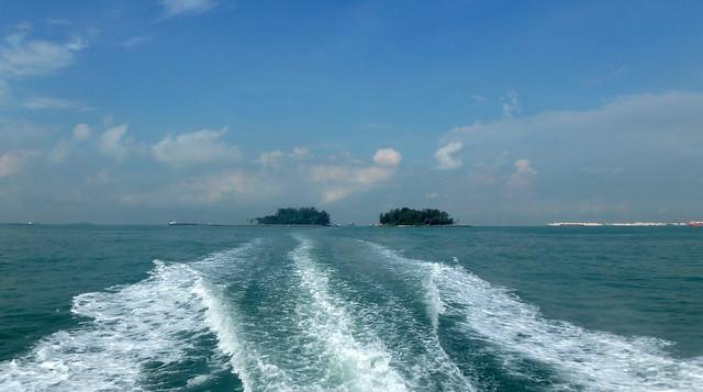 Leaving Big and Small Sisters' Island