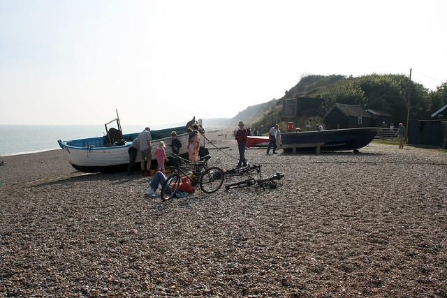 The beach at Dunwich
