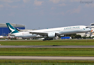 F-WZGV Airbus A350-1000 Cathay Pacific