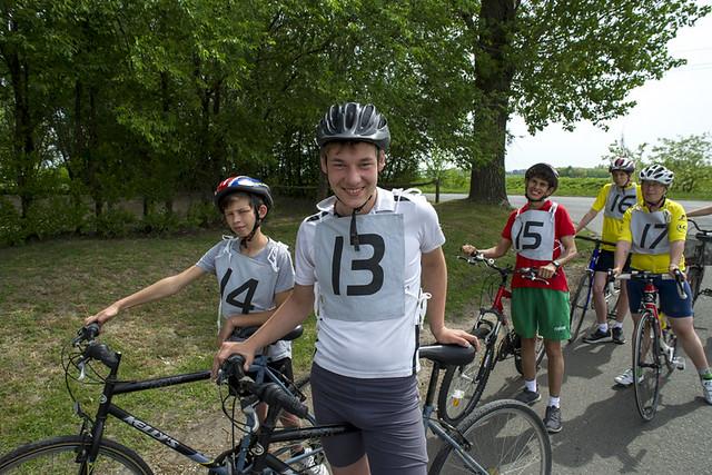 Kerékpár válogató verseny