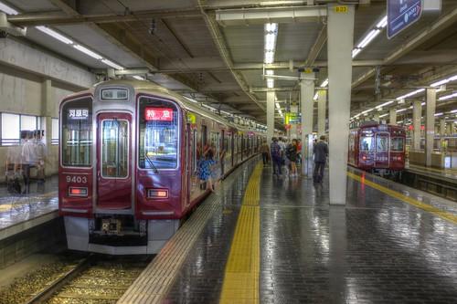 Umeda Station, Osaka on 21-05-2018 (1)