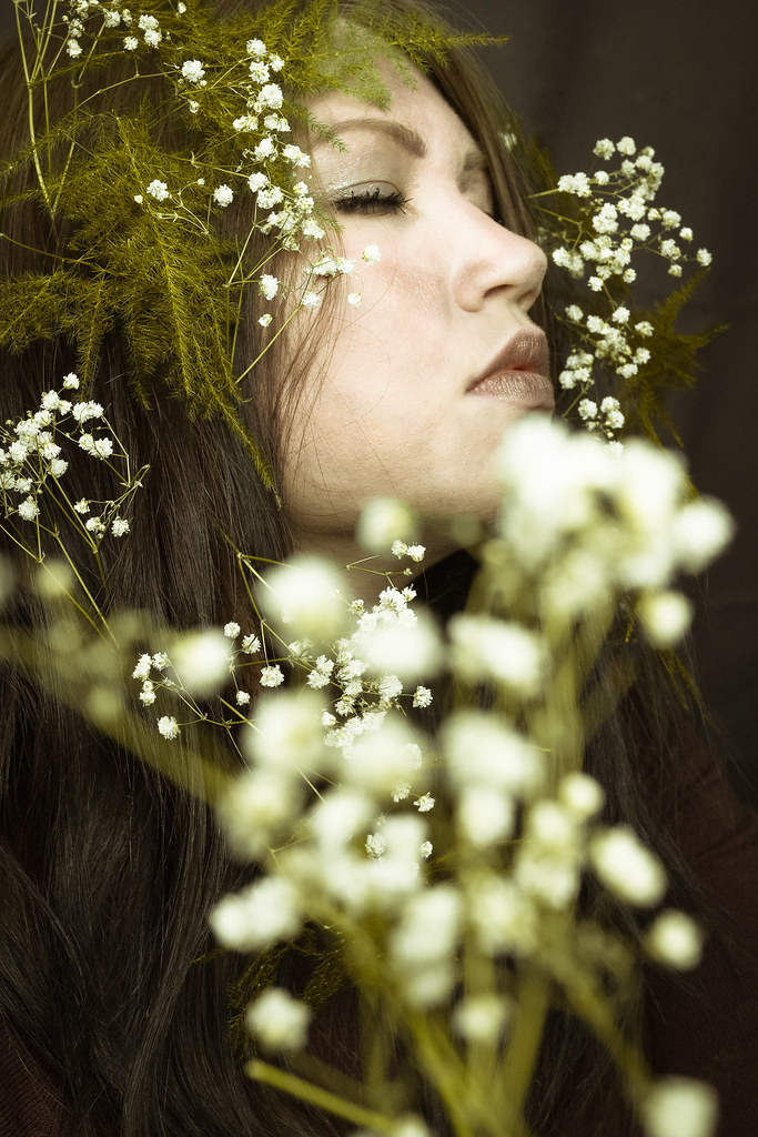 Spring is my muse / Self-portraits