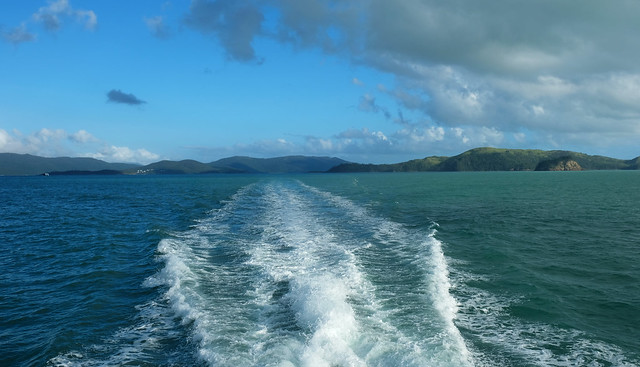 Cruising the Whitsundays