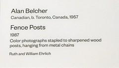 Fence Posts by Alan Belcher