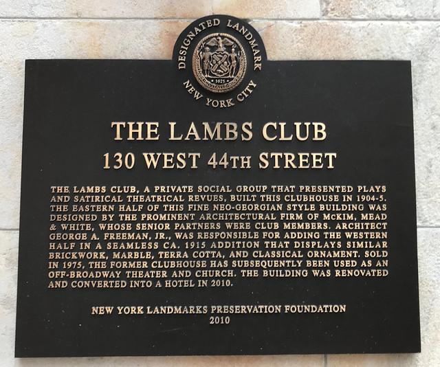 The Lambs Club