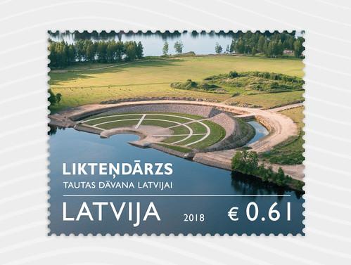 Pastmarka: Likteņdārzs - tautas dāvana Latvijai