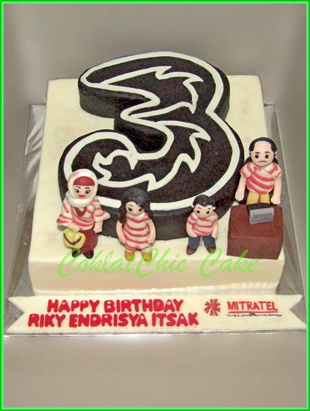 Cake Family Company PAK RIKY 20 cm