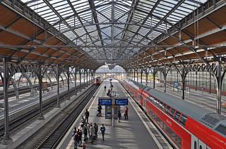 Germany - Lübeck - bahnhof