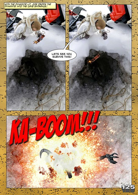 Bamcomix - An old face returns - Chapter Seven - What Lies Beneath The Ice? 27912619418_769e0089a0_z