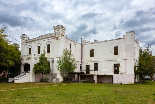 orangeburg orangeburgcounty southcarolina downtown jail constructed1860 historic nrhp nationalregisterofhistoricplaces abandoned