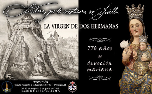 Cartel exposicion Valme en el Círculo Mercantil de Sevilla