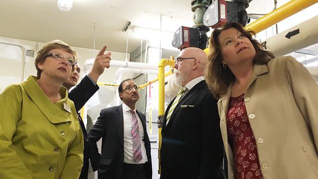 Lowering power bills, cutting emissions