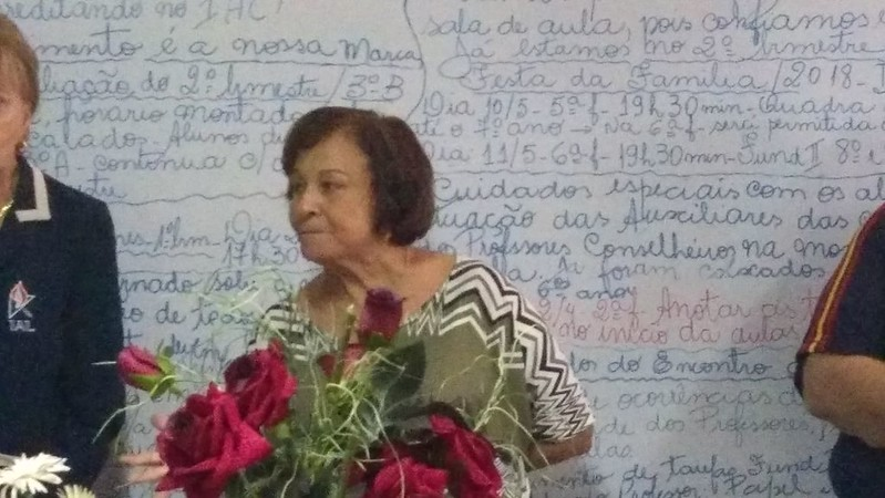 Despedida da Profª Célia