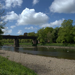 Down by the river at Preston