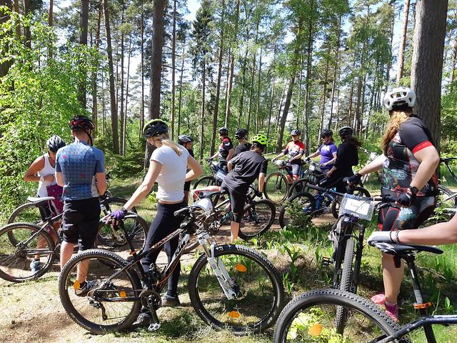 Lördagseftermiddag på cykel