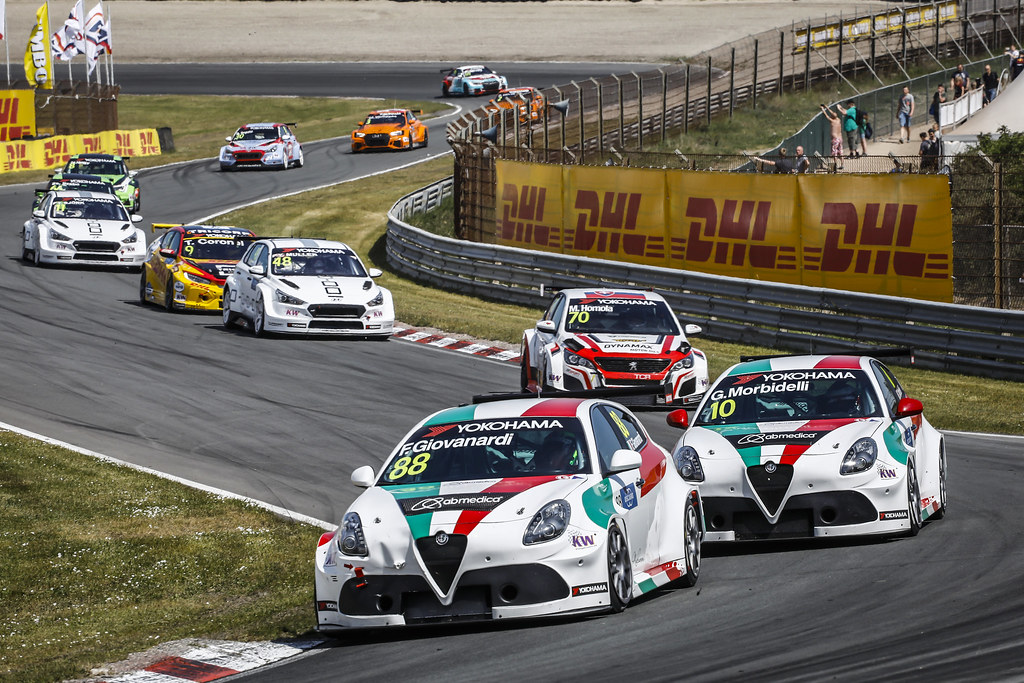 88 GIOVANARDI Fabrizio, (ita), Alfa Romeo Giulietta TCR team Mulsanne, action during the 2018 FIA WTCR World Touring Car cup of Zandvoort, Netherlands from May 19 to 21 - Photo Francois Flamand / DPPI