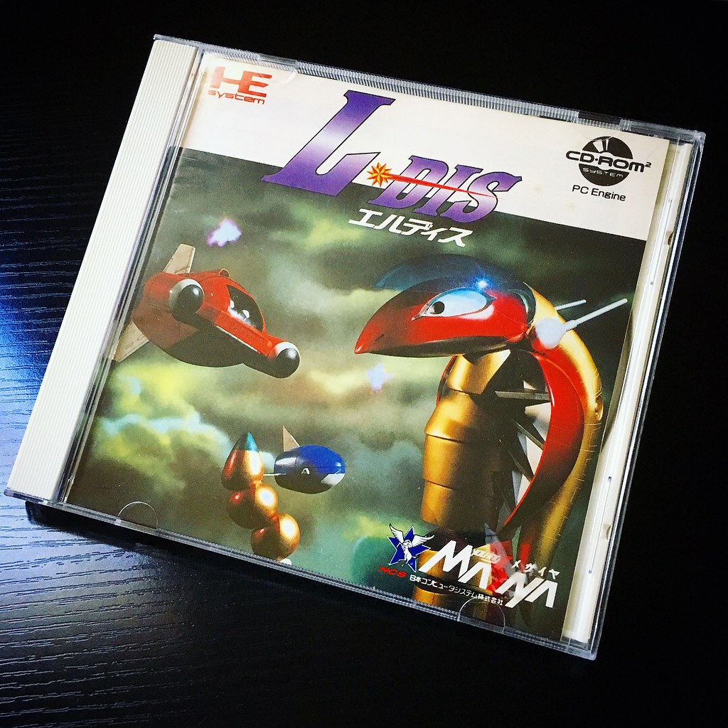 L-Dis for PC-Engine CD-Rom  A shmup in the