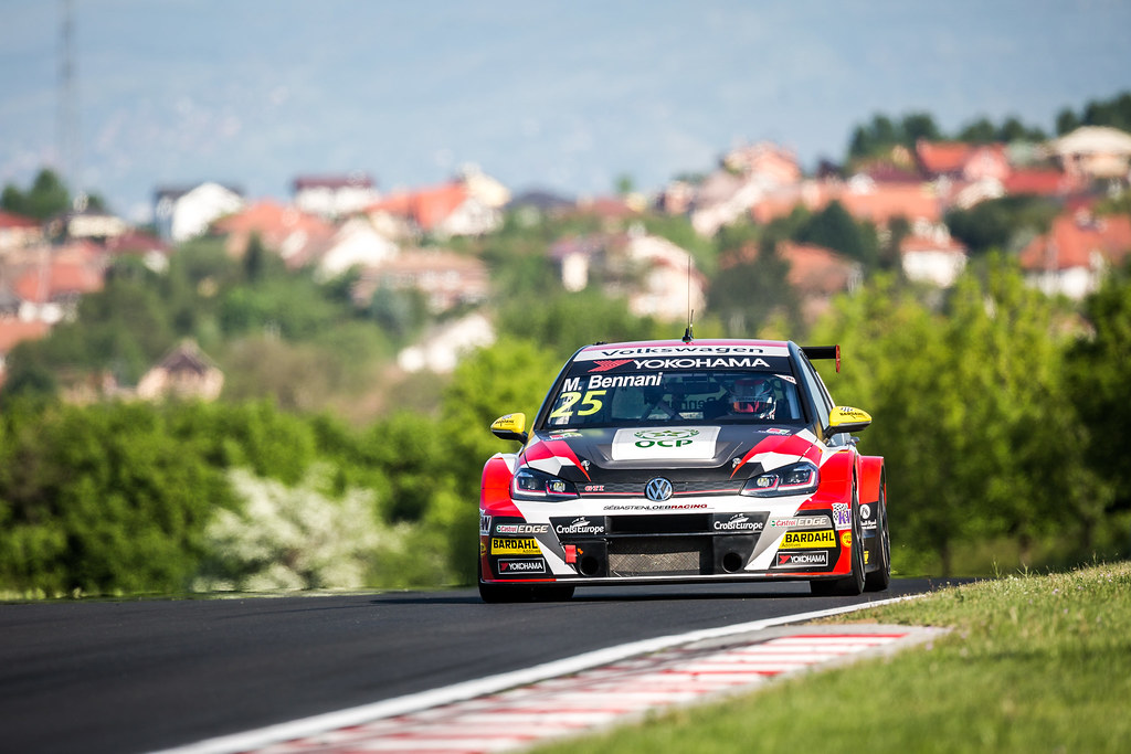 25 BENNANI Mehdi (MAR), Sebastien Loeb Racing, Volkswagen Golf GTI TCR, action during the 2018 FIA WTCR World Touring Car cup, Race of Hungary at hungaroring, Budapest from april 27 to 29 - Photo Thomas Fenetre / DPPI