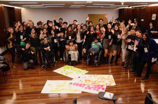 Jóvenes en Seminarios de Educación Inclusiva