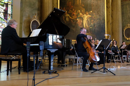 Mats Jansson, piano, Niklaas Veltman, cello