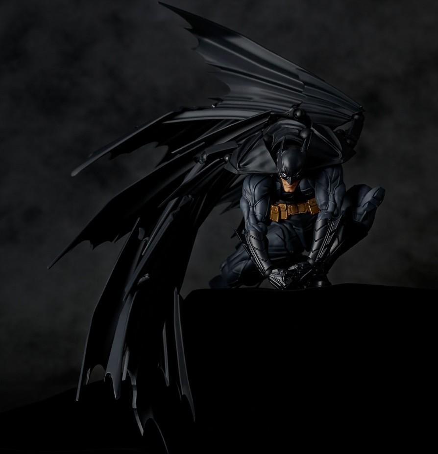 【大量高清彩圖公開】帥氣的披風超可動! 海洋堂 Amazing Yamaguchi DC【蝙蝠俠】バットマン Batman