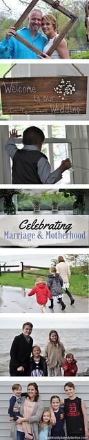 Celebrating Marriage and Motherhood #wedding #mothersday #Downsyndrome #momblogger