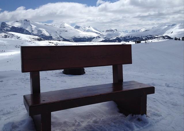 Rocky Mountain High Happy Bench Monday