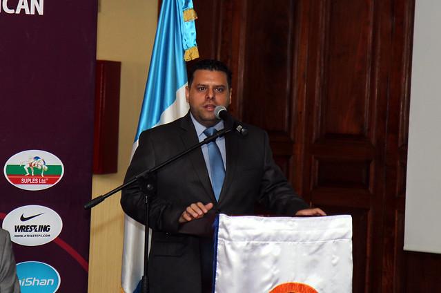 Presentación y Jura de atletas Panamericano Luchas
