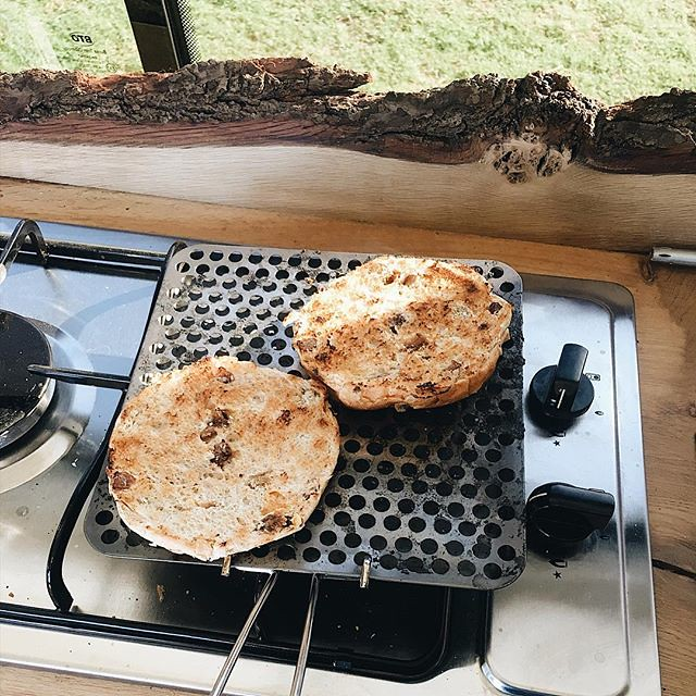 So far we don't miss having an oven thanks to this little kitchen gadget. #vanlife