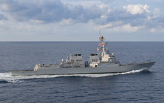 USS Preble (DDG 88) file photo. (U.S. Navy/MC3 Morgan K. Nall)