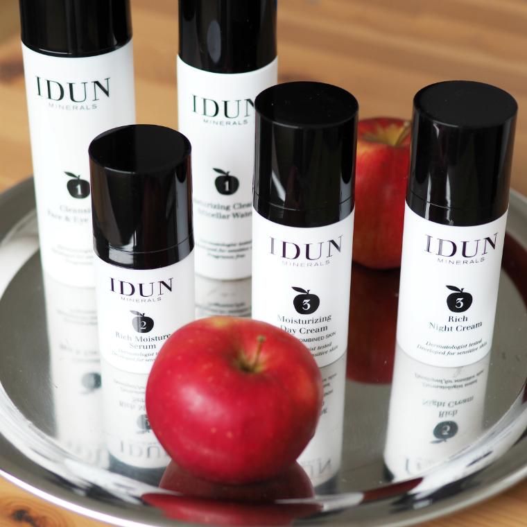 IDUN Minerals ihonhoitotuotteet