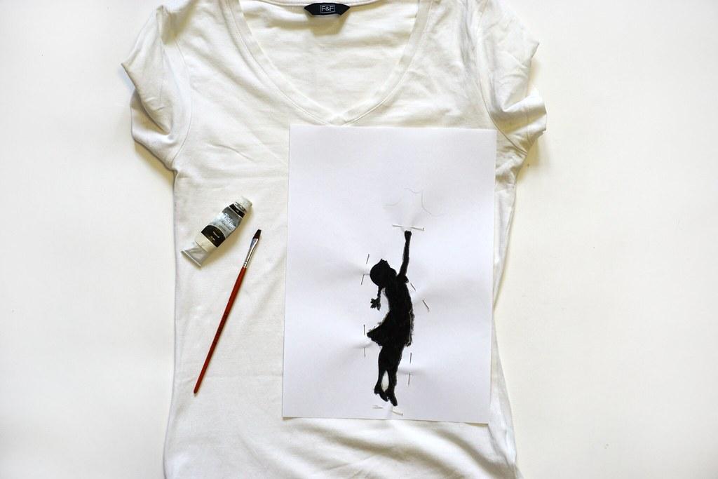 DIY: Декорируем футболку своими руками