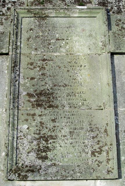 Kilmadock Parish, Doune, War Memorial 5