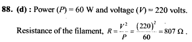 NEET AIPMT Physics Chapter Wise Solutions - Current Electricity explanation 88