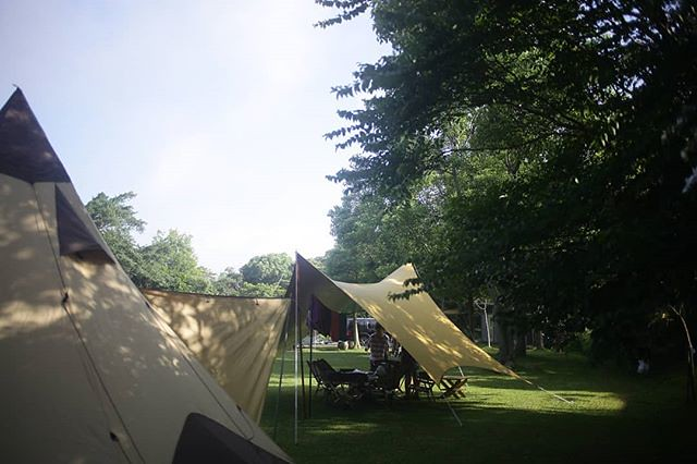 20180512 早安啊~ #歐北露 #campinglife #ilovecamping #TiiTentHexa #ogawapilz15