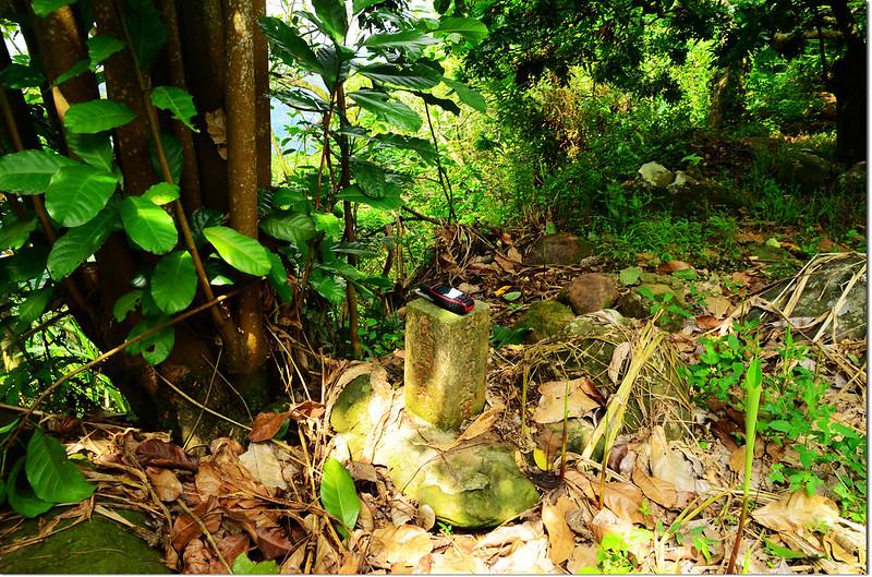 埔尾急水溪水源10號水源保護區界水泥柱(Elev. 376 m)