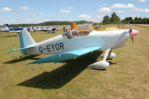 G-EYOR Vans RV-6 [PFA 181A-13259] Popham 110710