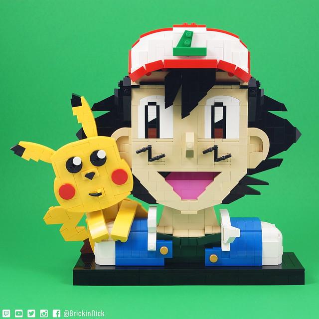 Ash & Pikachu