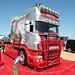 WH Malcolm Group Scania R580 Longline L19WHM Peterborough Truckfest 2018