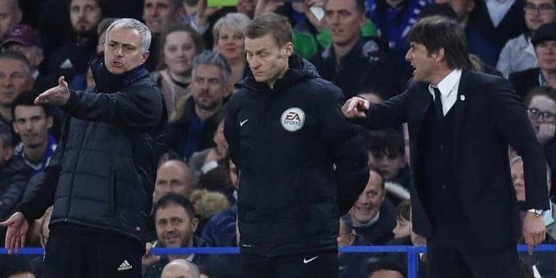 Duel Terakhir Antara Jose Mourinho dengan Antonio Conte