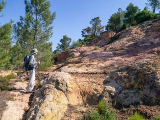 Ockerfelsen bei Roussillon